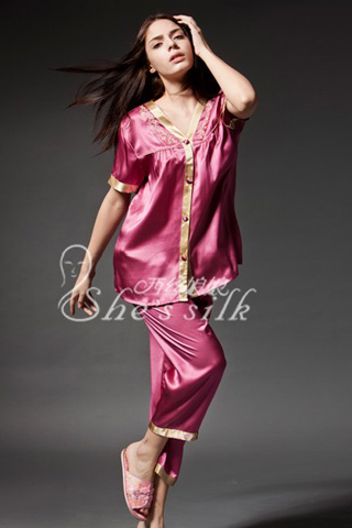 dinnel silk pyjamas women