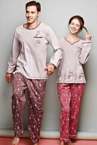 Couple Pajamas Set